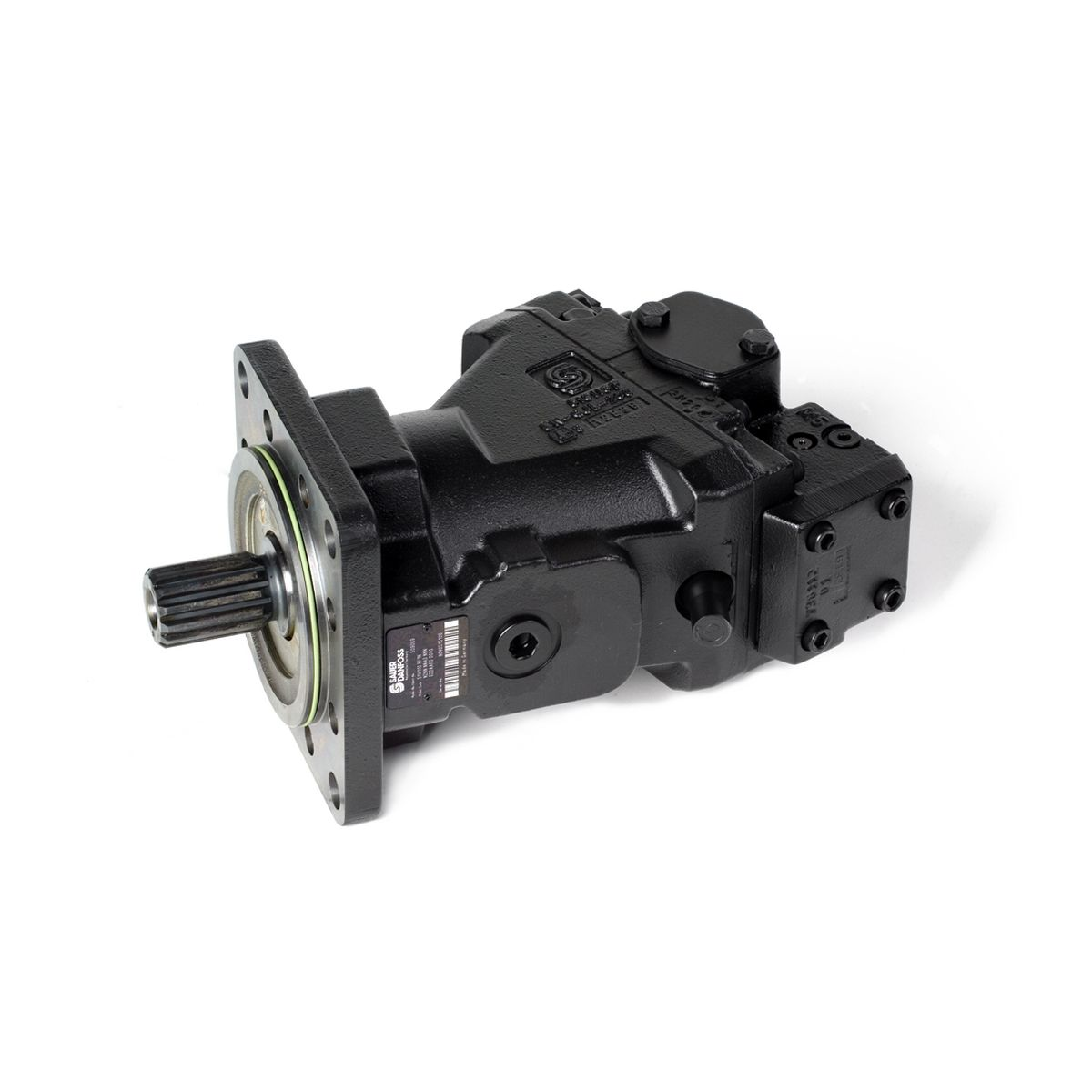 Motor hidráulico de pistones axiales Danfoss