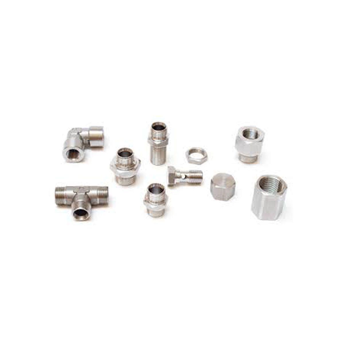 Adaptadores para manguera hidráulica BSP inox