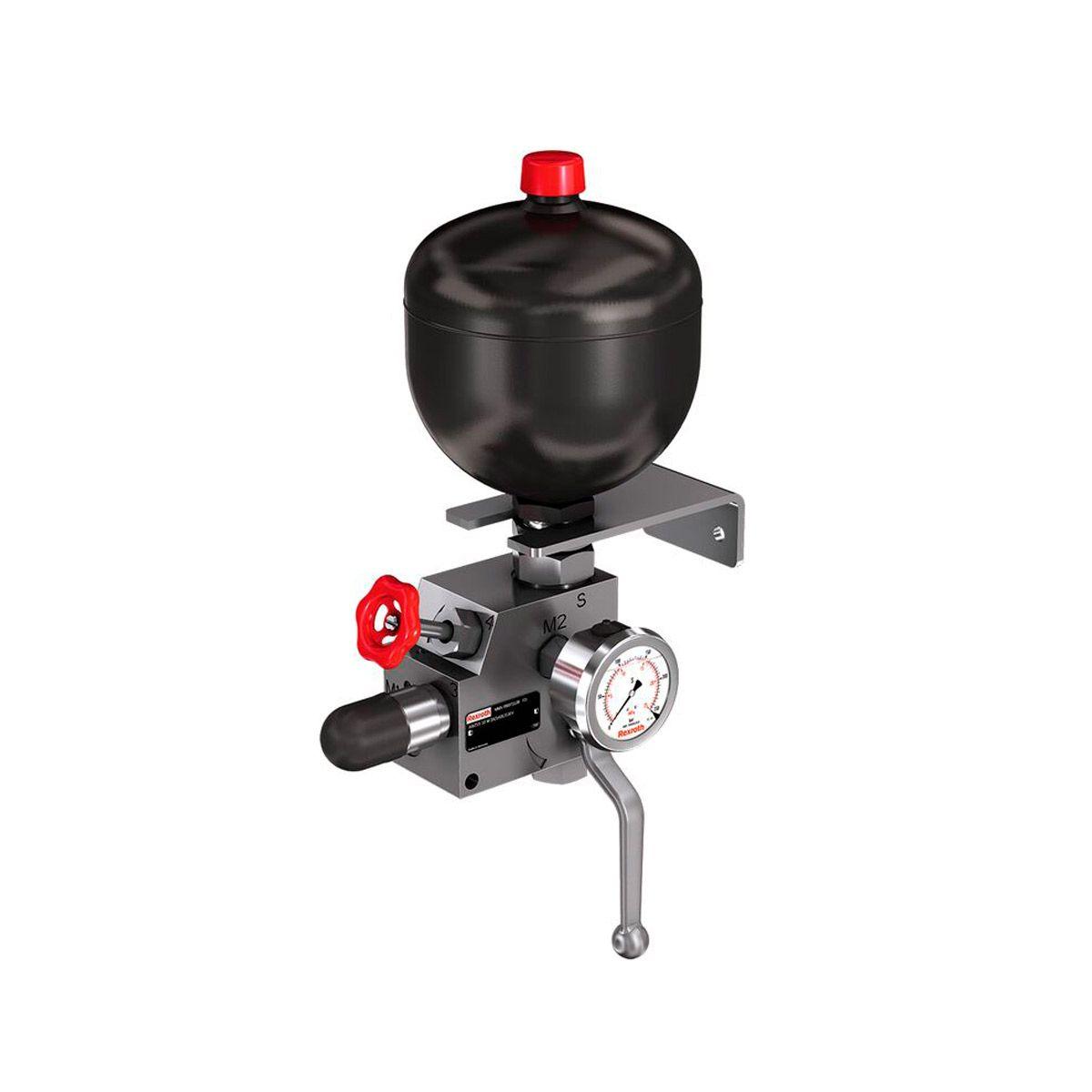 Acumulador hidráulico de la marca Bosch Rexroth