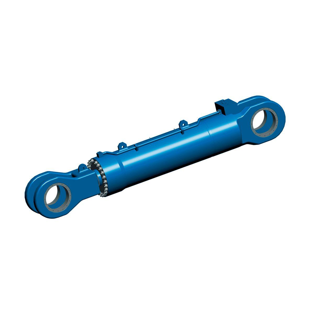 Cilindro hidráulico giratorio de la marca Bosch Rexroth
