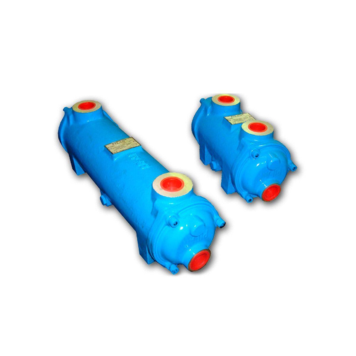 Intercambiador de calor agua aceite Pilan