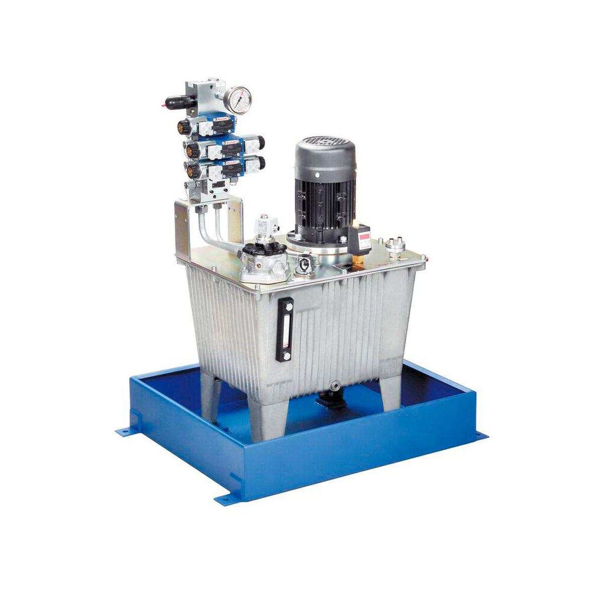 Grupo hidráulico con motor eléctrico Bosch Rexroth