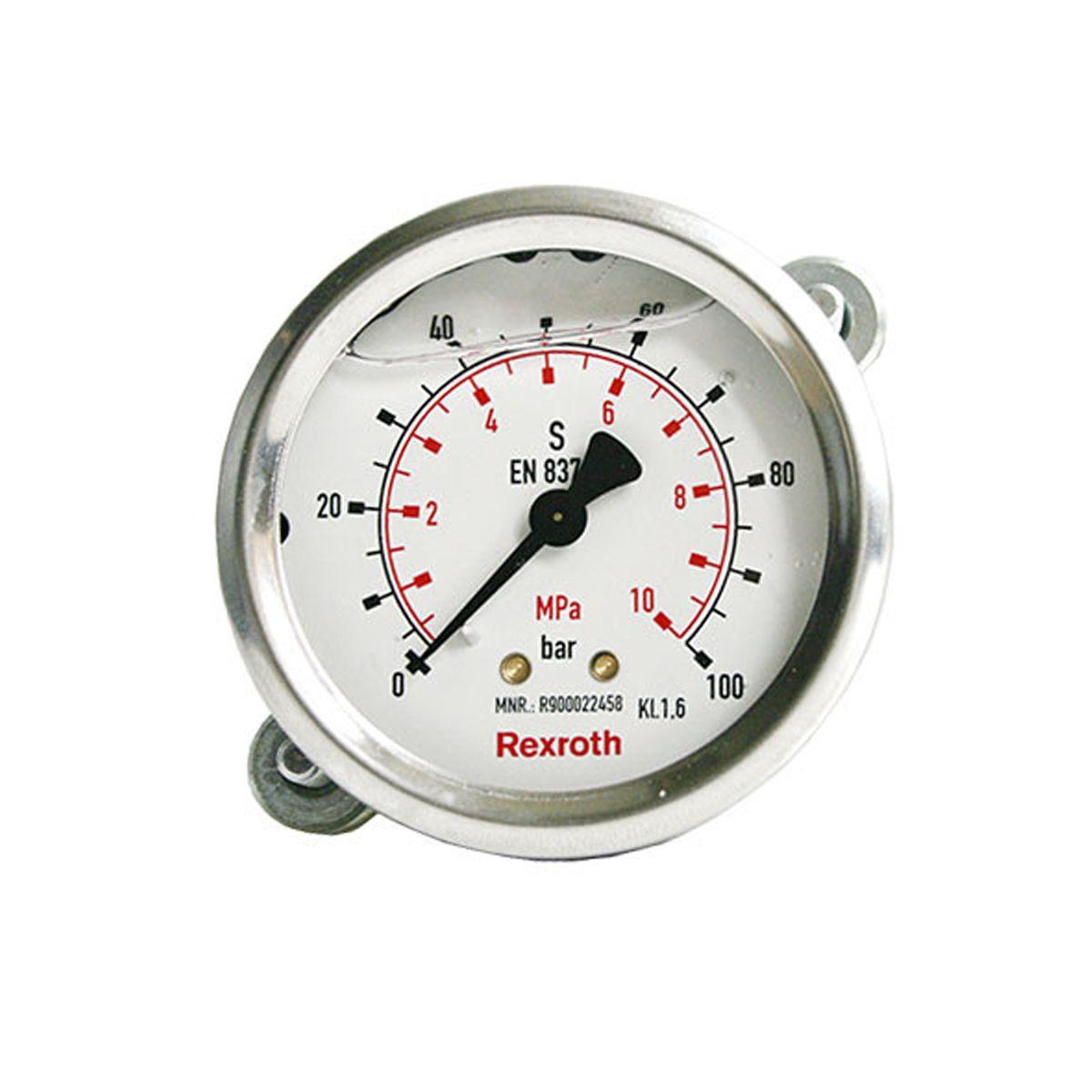 Manómetro para hidráulica de la marca Bosch Rexroth