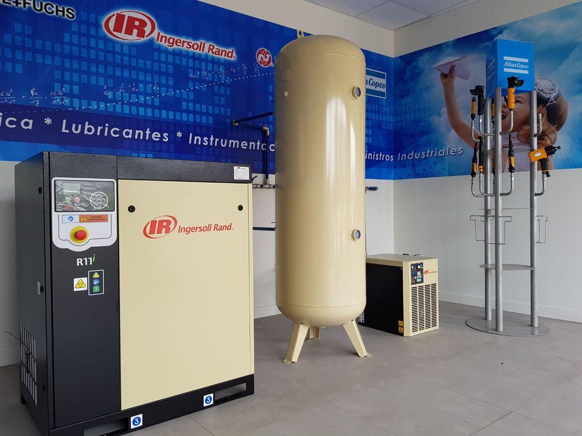 Instalación demo de aire comprimido Velfair en Cantabria