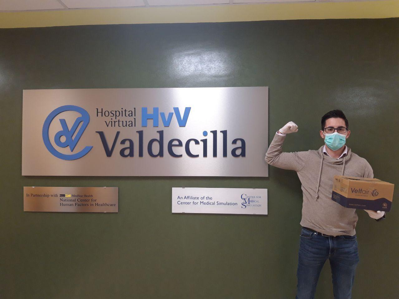 protectores faciales velfair valdecilla covid19
