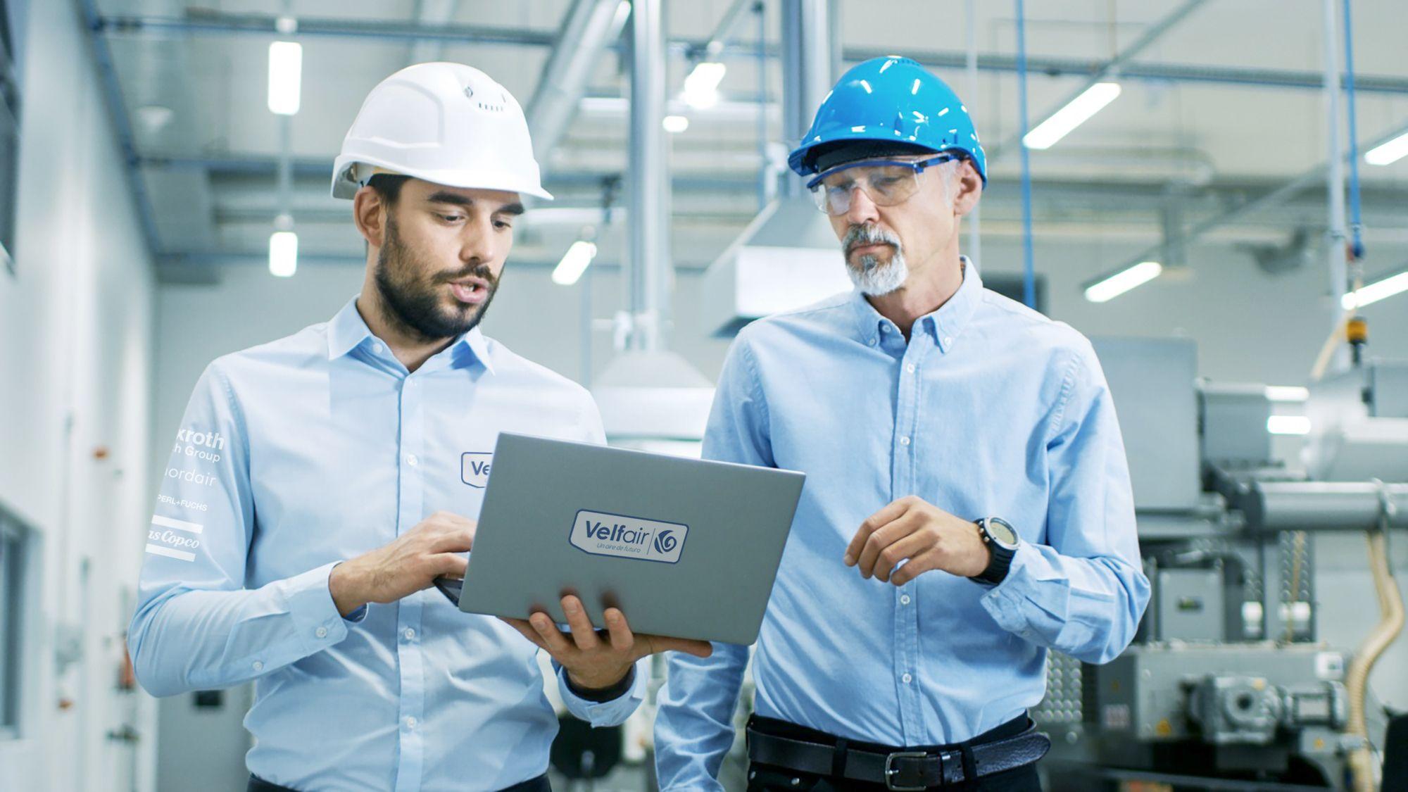 Velfair ofreciendo soluciones de Industria 4.0