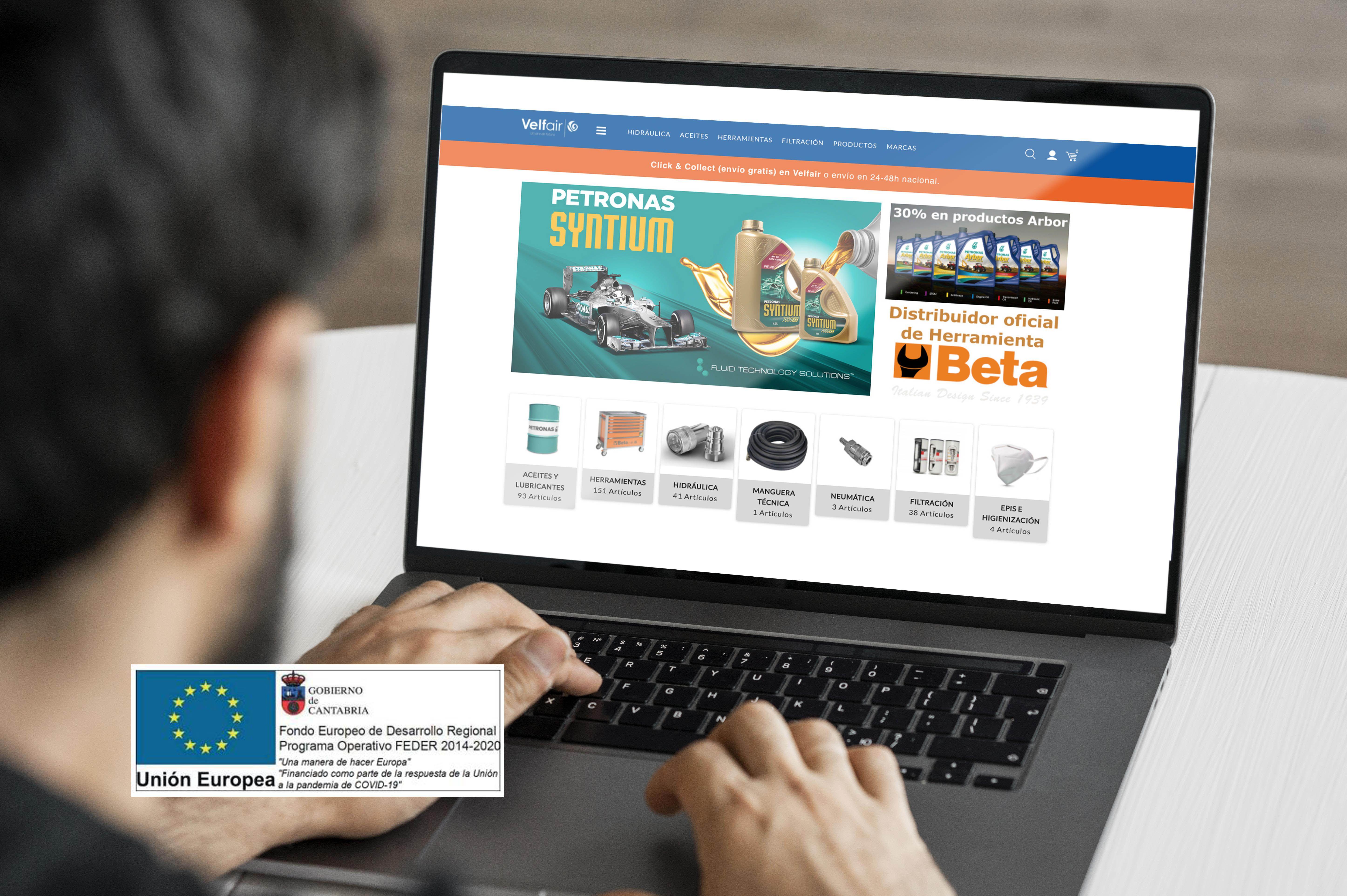 velfair tienda online subvencion ue