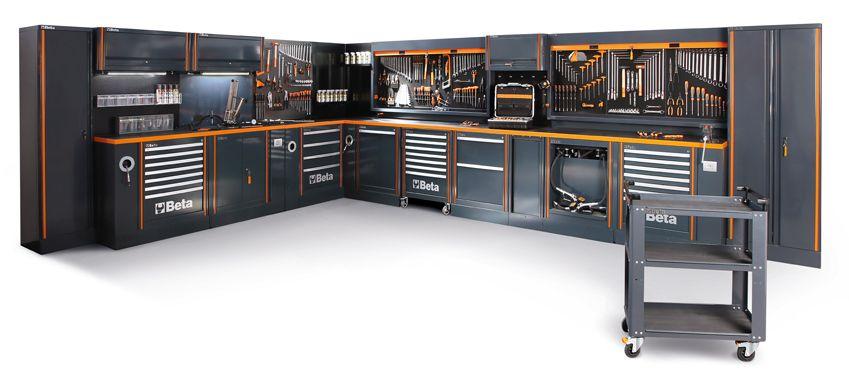 Mobiliario para taller RSC55